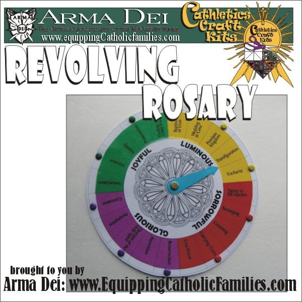Revolving Rosary… PRINTABLE!