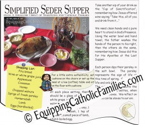 sneak peek Seder Supper