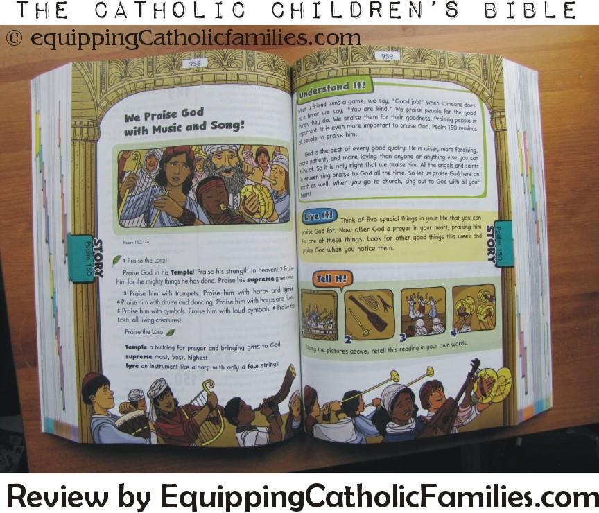 Review: The Catholic Children's Bible by St Mary's Press