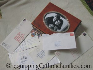 love letter scrapbook