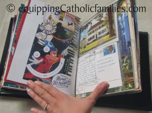 love letter scrapbook collage