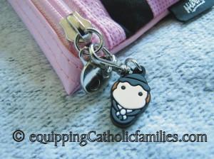tiny saints pencil case pull