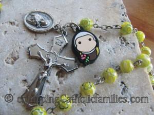 tiny saints rosary