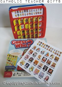 Catholic Guess Who Teacher Gift