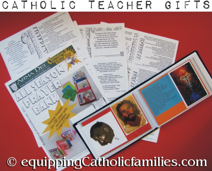 another Unique Catholic Teacher Gift!