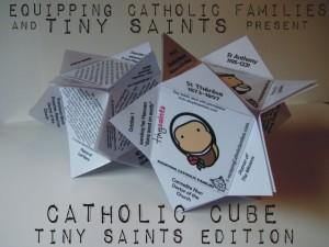 catholic cube tiny saints