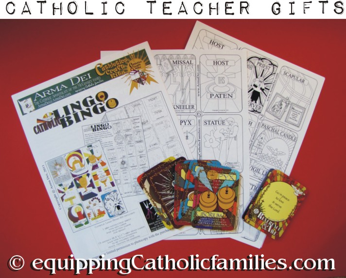 Catholic Lingo Bingo Classroom Kit: Gift for Teacher