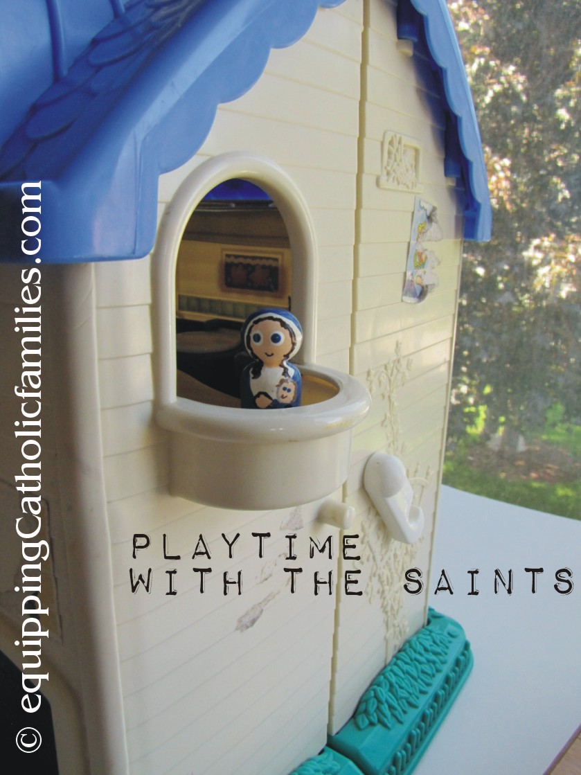 Playtime with the Saints