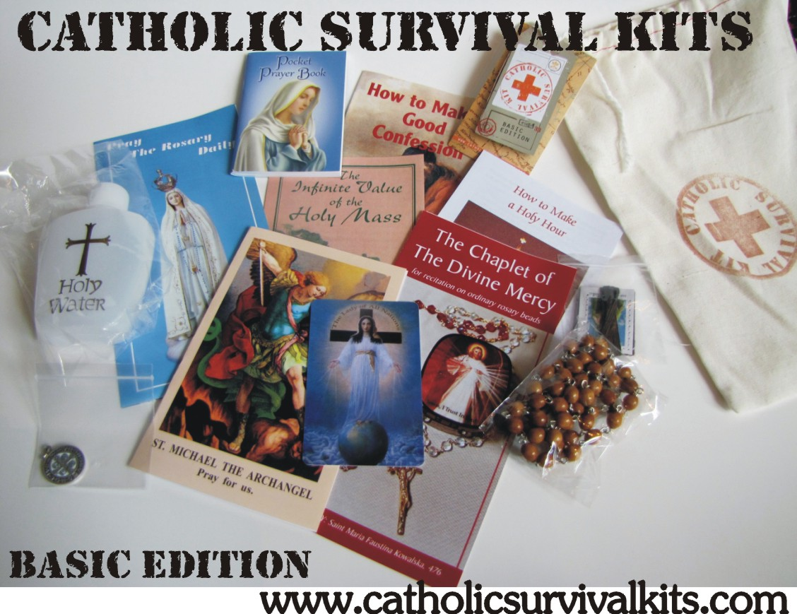 WINNERS announced for Catholic Survival Kit GIVEAWAY!
