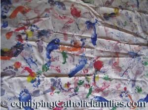 feetprinting mat