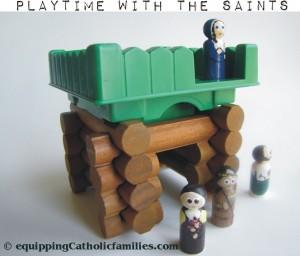 lincoln log saints
