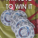 Minute To Win It with FREE printable!