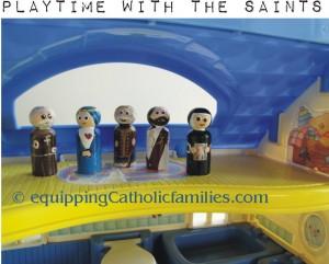 saints in the attic