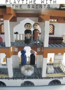 saints in the castle