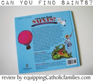 can you find saints back cover