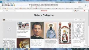 Catholic Pinterest Pinboard