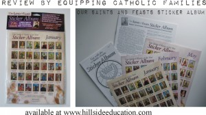 Saints and Feasts Sticker Album