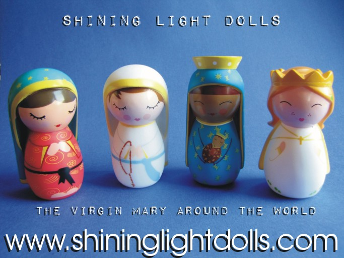 Superior ... Shining Light Dolls Are Announced! Happy Birthday Mother Mary Nice Design