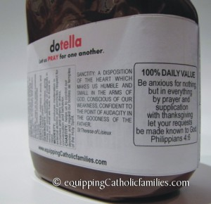 dotella Prayer Jar ingredients