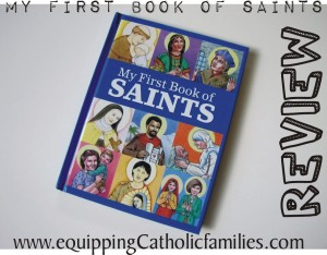 First Book of Saints cover