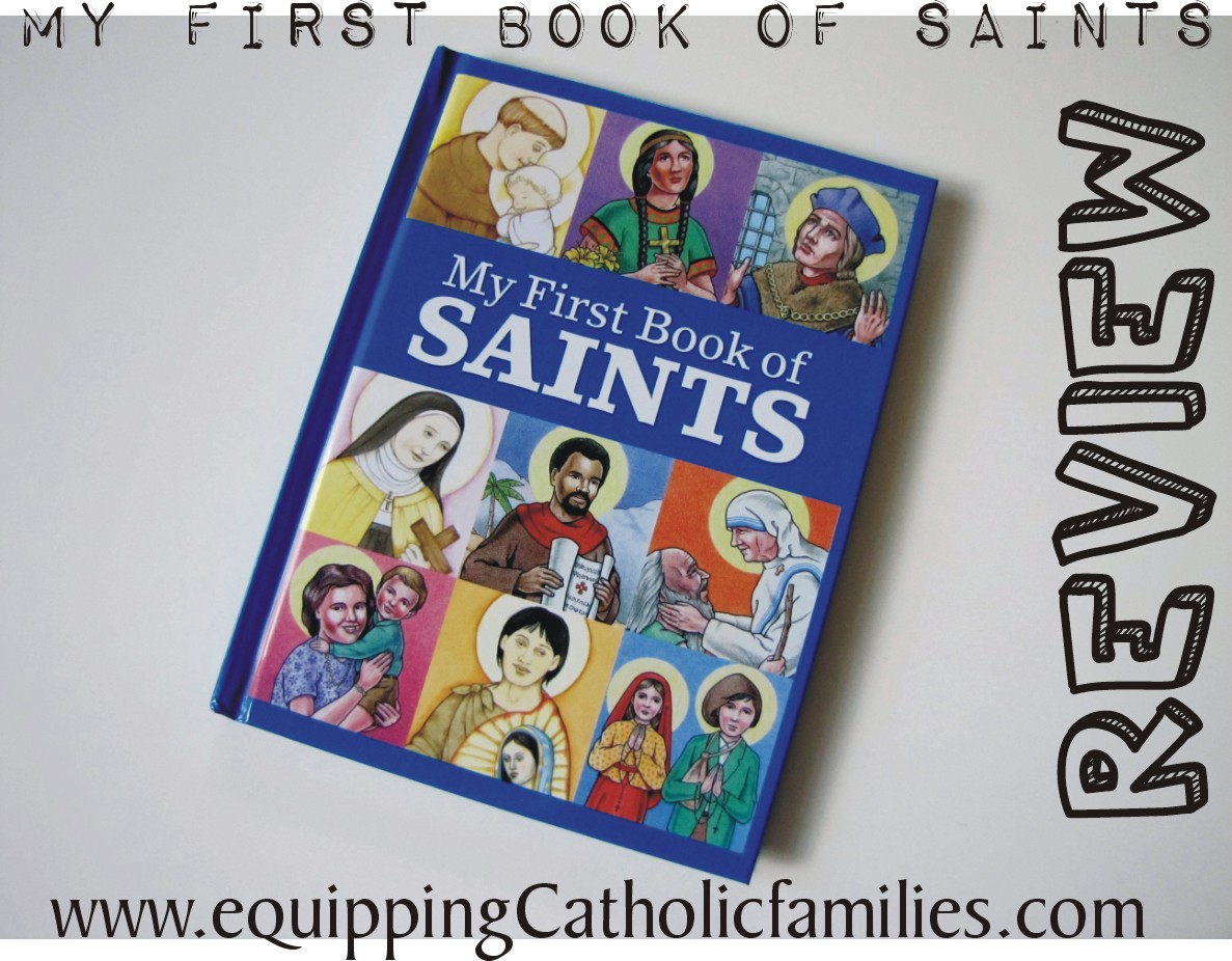 Review: My First Book of Saints