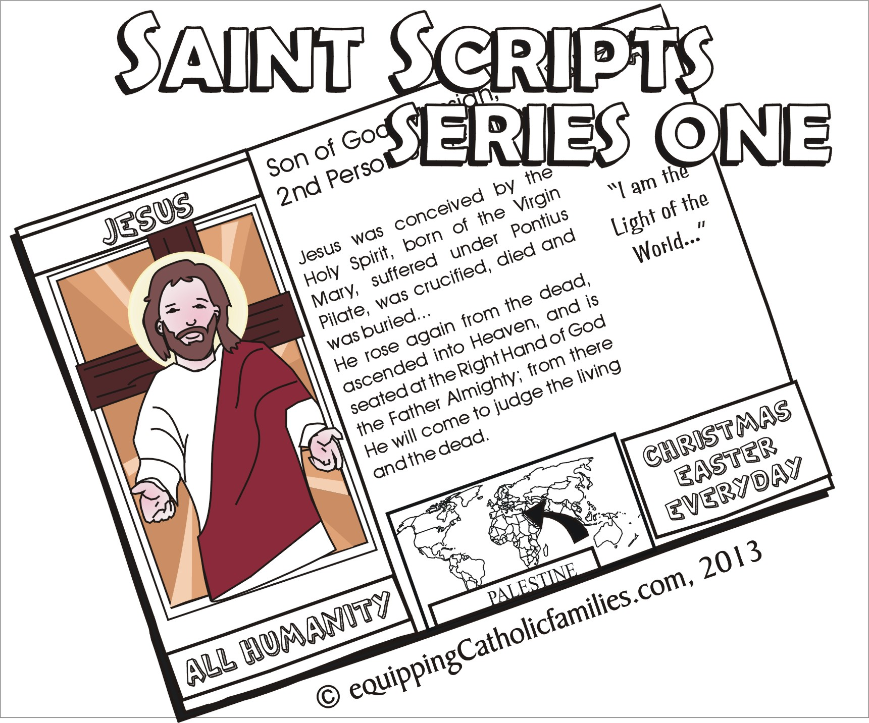 NEW! Saints Scripts Cathletics Craft Kit Series!