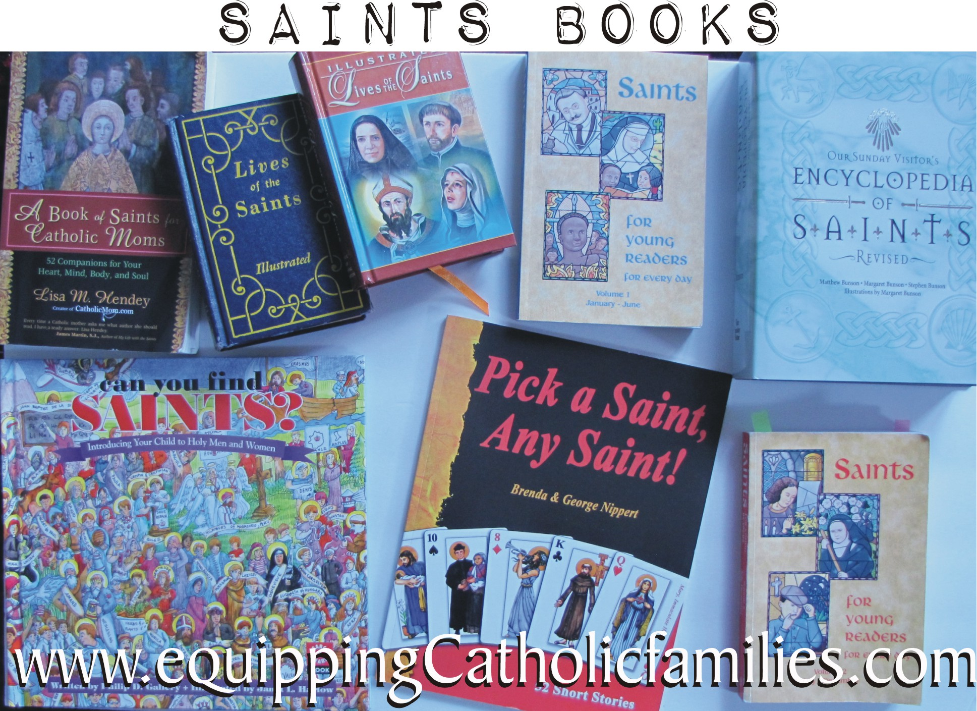 Saints Books and How To Use Them!