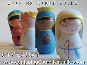 shining light dolls giveaway