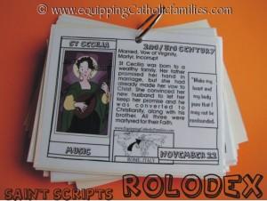 Rolodex St Cecilia