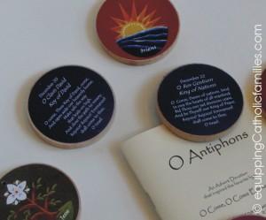 O Antiphons close up