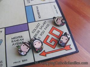 Tiny Saints Monopoly