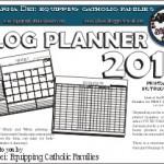 Catholic Blog Planner
