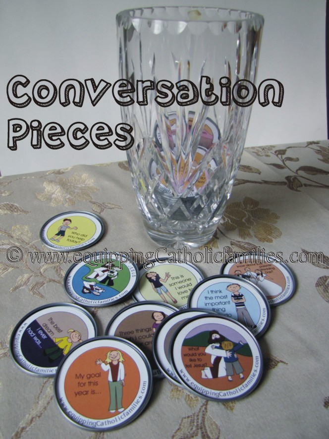 Conversation Pieces: One Way to Inspired Dinners!