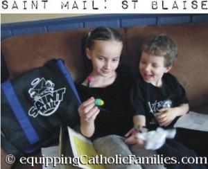 Saint Mail St Blaise package