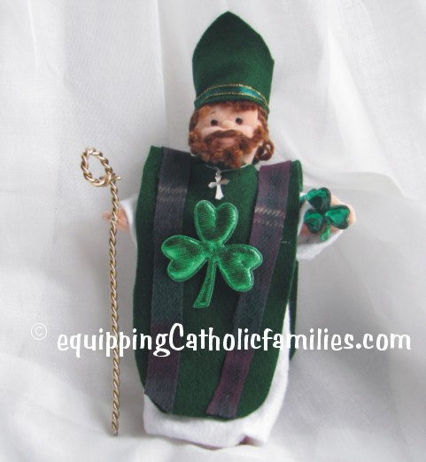 TY Doll converted to St Patrick