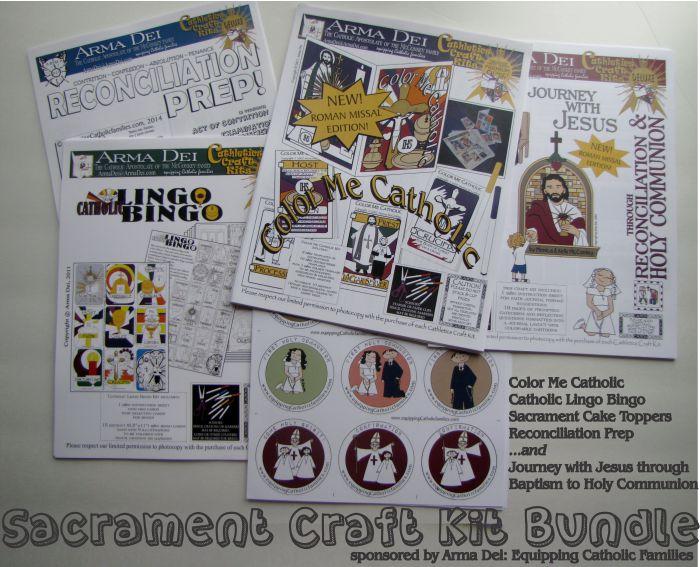 Catholic Mom Sacrament Craft Kit Bundle small