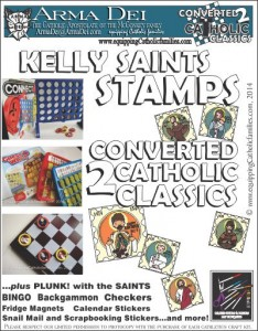 Kelly Saints Stamps Craft Kit cover