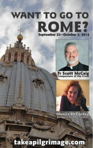 Rome Fr Scott and Monica