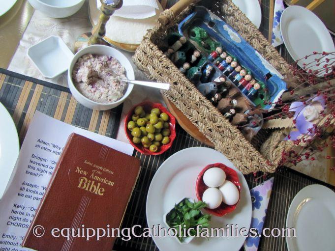Seder Supper 2014