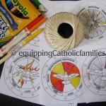 Holy Spirit Spin Wheel for Pentecost!