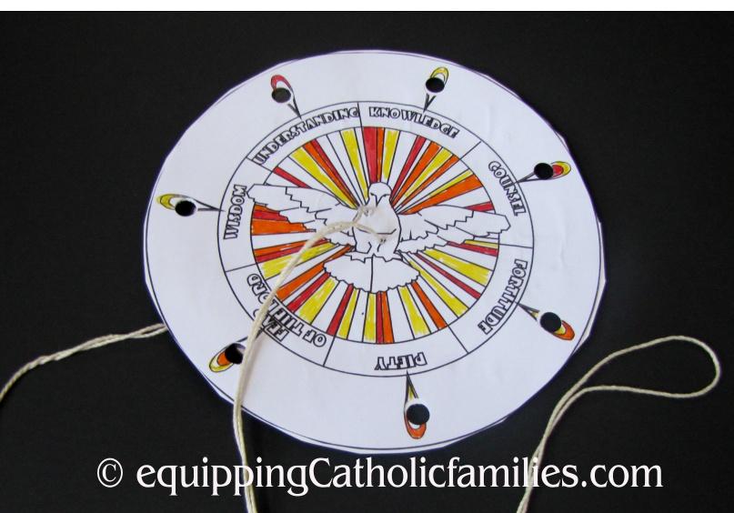 Pentecost Spin Wheel