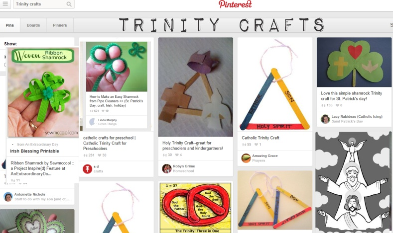 Trinity Crafts on Pinterest