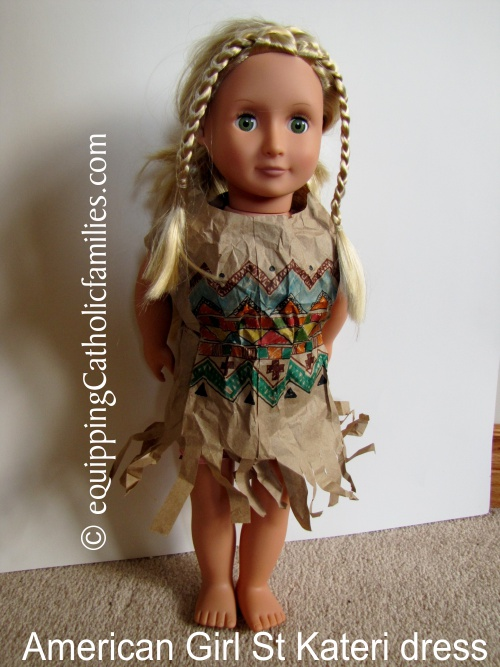 American Doll St Kateri