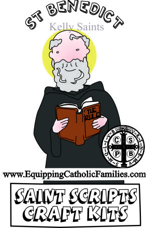 Feast Day Fun: St Benedict