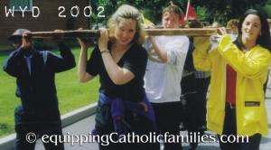WYD 2002 cross