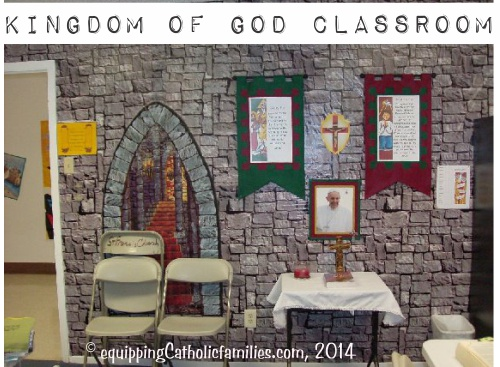 2014 Catechist Classroom wall