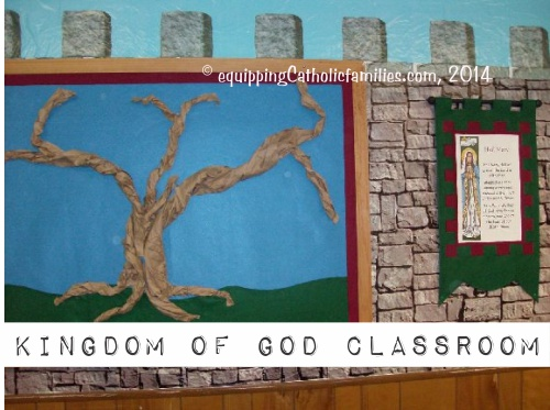 2014 a Catechist Classroom Family Tree