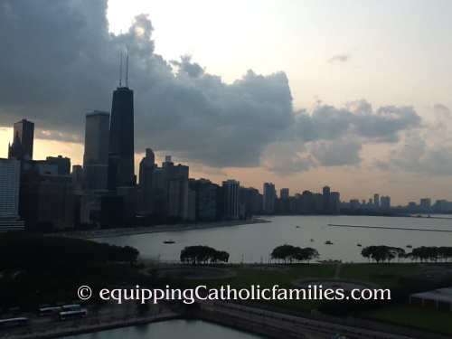 Back to the Blog! Fr Larry, Crocker Park, Notre Dame, Chicago, CMN, St Benedict's and Fr Dan