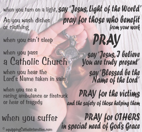 Prayer Habits