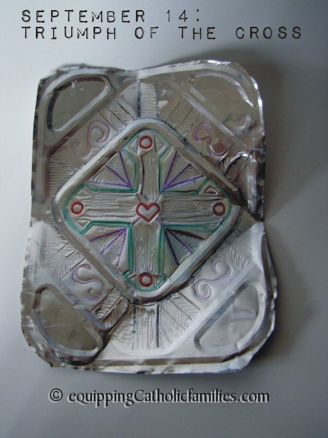 Foil Pan Cross